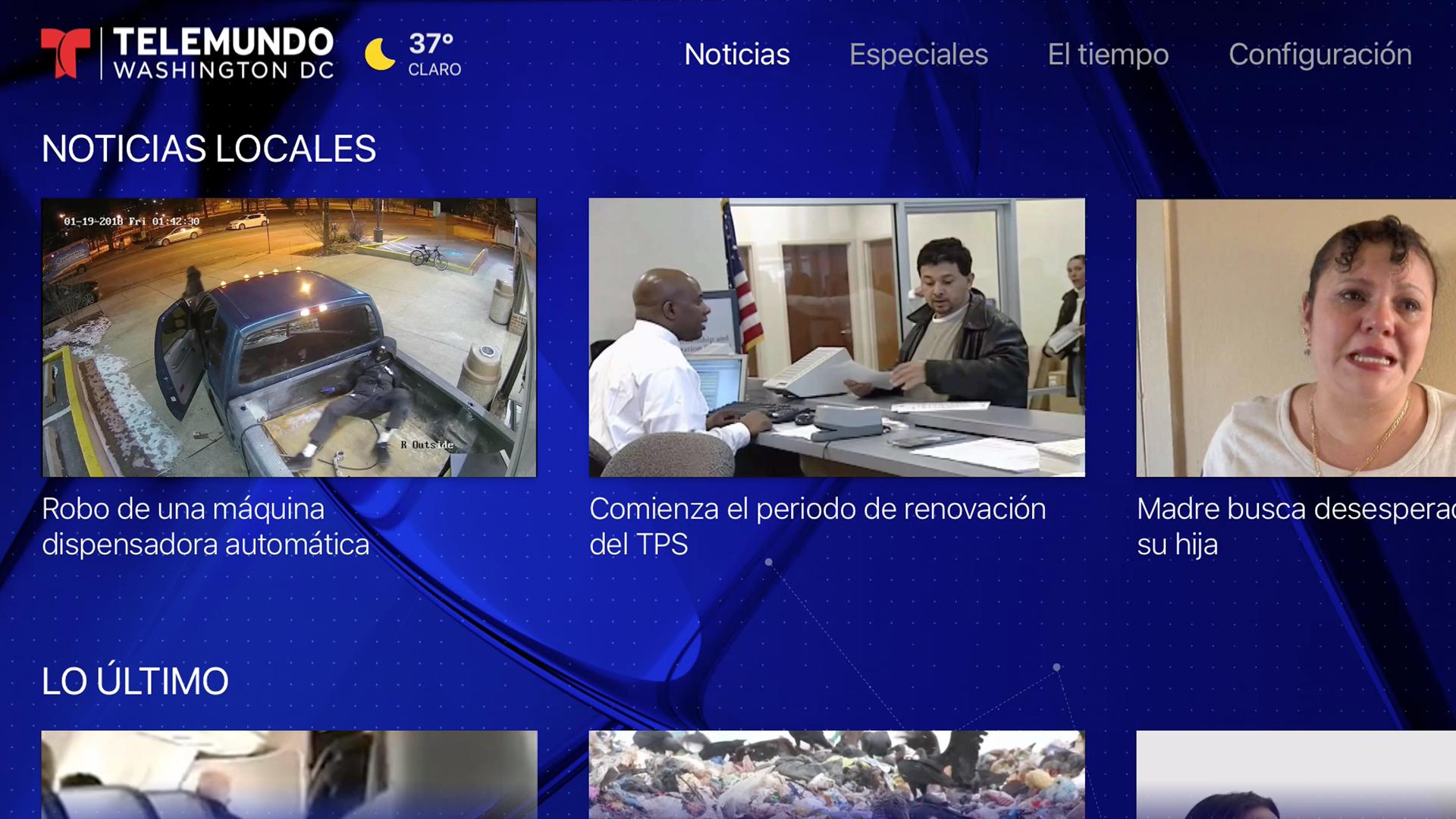 Telemundo 44 screenshot 17