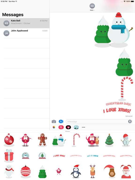 Top Christmas Stickers screenshot 7