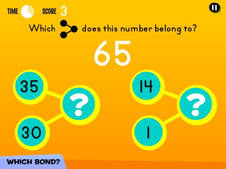Number Bonds: Add & Sub to 99 screenshot-4