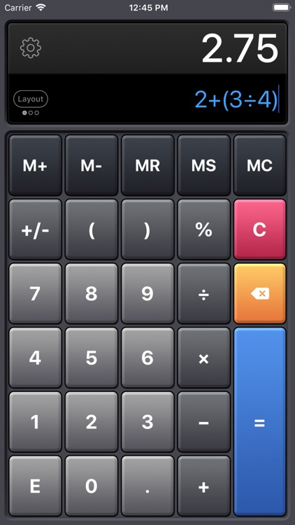 Calculator HD Pro Lite screenshot-3