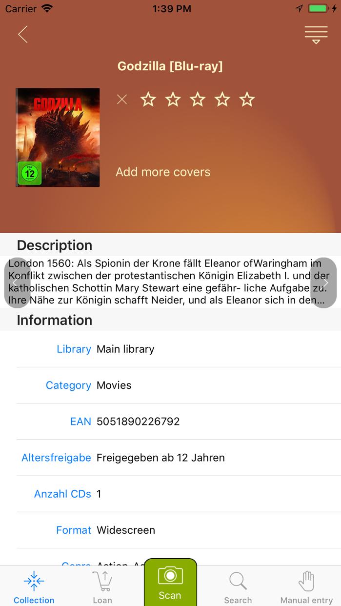 Fantastic Library Screenshot