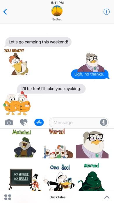Disney Stickers: Ducktales screenshot 2
