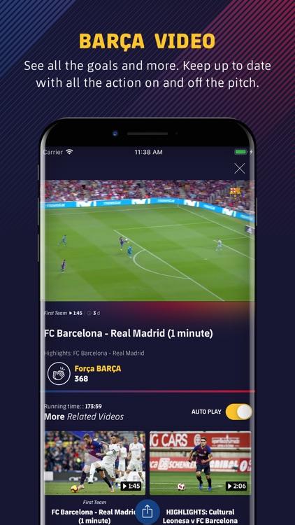 FC Barcelona Official App screenshot-4