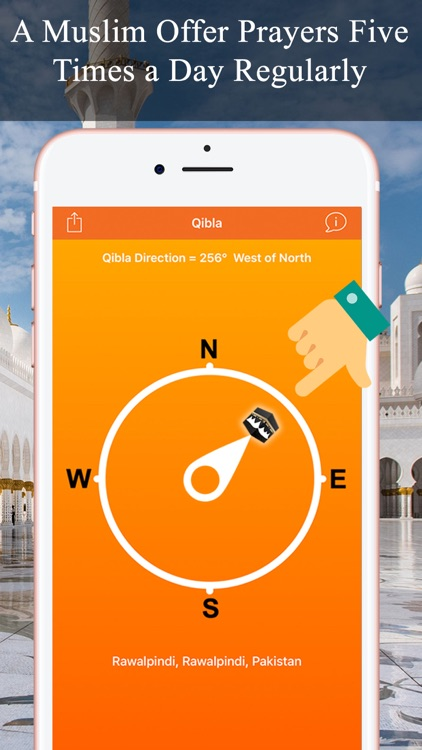 Qibla Compass & Locator Pro screenshot-2