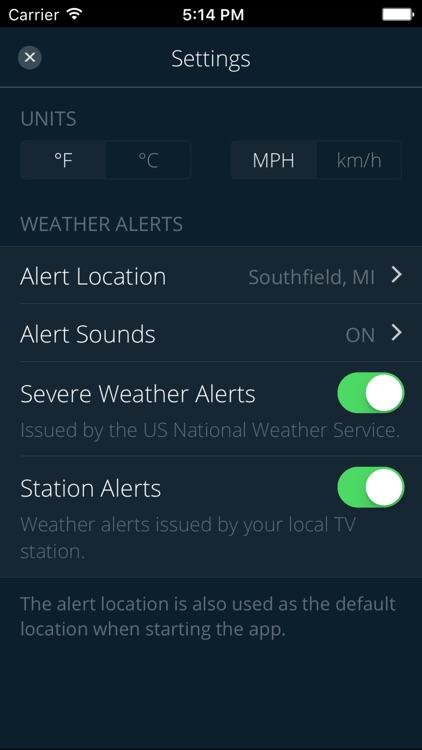 Fox 2 Weather screenshot-4