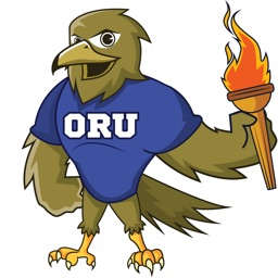 ORU Eagle Stickers