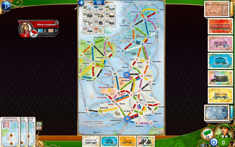 Screenshot #3 for Ticket to Ride