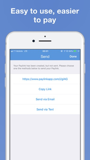 Pay Link Send Stripe Invoices On The App Store - Send invoice using stripe