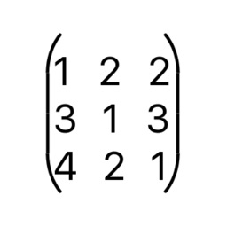 Calculator Of Matrix by Sunnykumar Mavani
