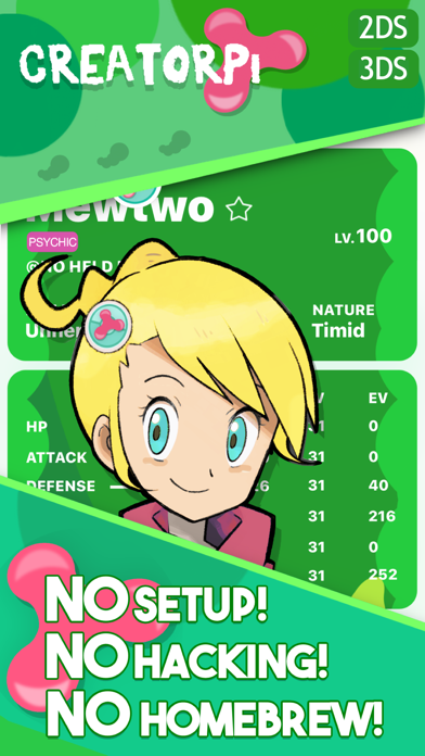 Creatorpi - for Pokémon Screenshot
