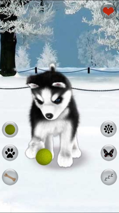 Talking Dog Virtual Pet Husky Screenshot
