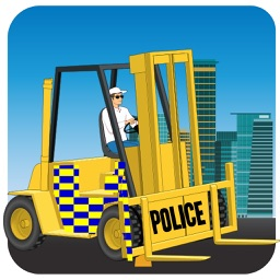 City Police Car Lifter
