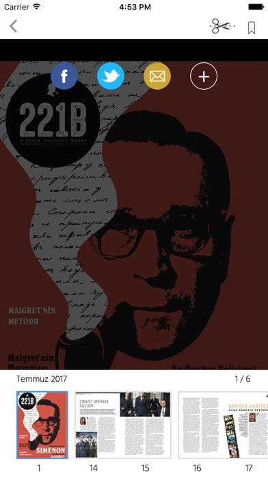 221B MagazineScreenshot of 2