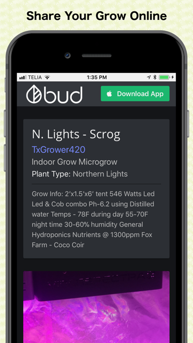 bud - Grow Journal & Community screenshot four