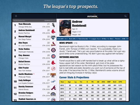 Fantasy Baseball Assistant '18 screenshot 9