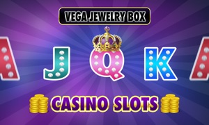 Casino Slots - Vegas Jewelry Treasure box