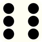 dados brancos Jogos de mesa icon