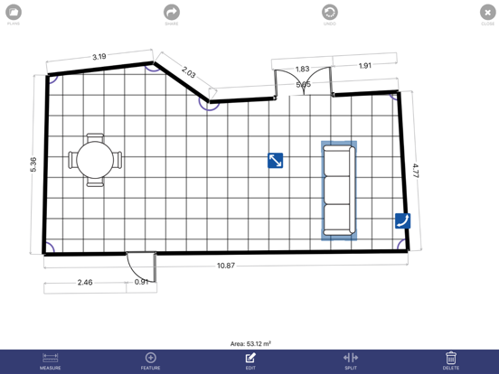 Floor Plan App screenshot 3