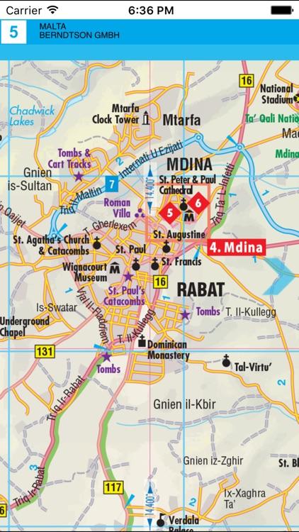 Malta. Road map.
