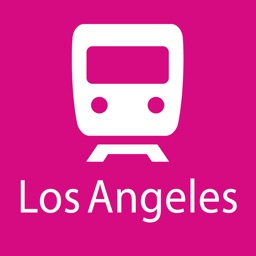 Los Angeles Rail Map Lite