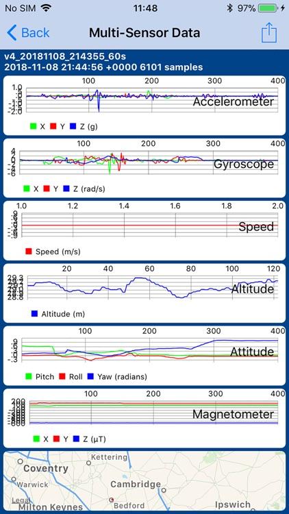 Sensor Play - Data Recorder screenshot-3