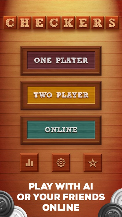 Checkers 2 Players: Online