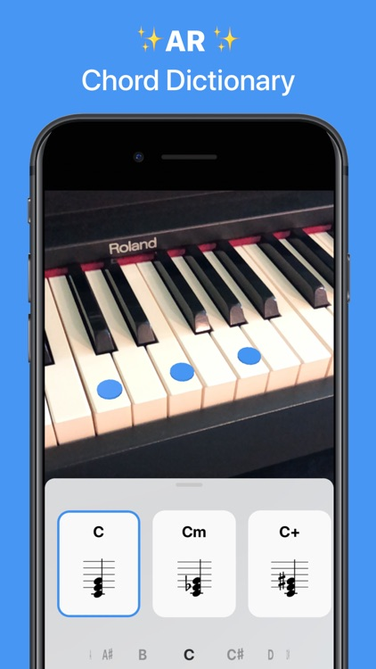 Tonic - AR Chord Dictionary screenshot-0