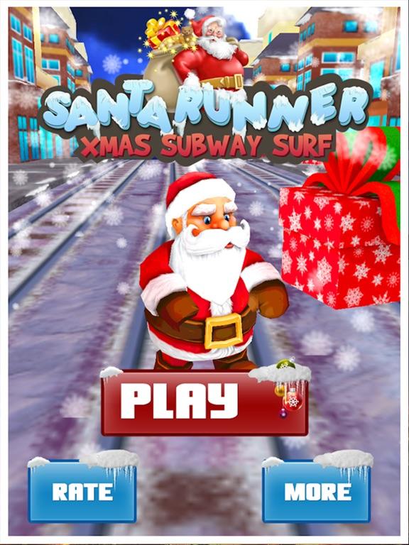 screenshot 1 for santa run xmas subway runner - Subway Christmas Eve Hours
