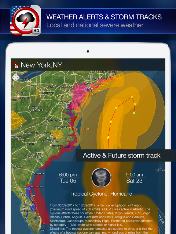 Weather Alert Map USA   App Price Drops on fat map, san map, geometry map, stp map, science map, read map, man map, mke map, live weather map, city of mohenjo-daro map, msy map, bna map,