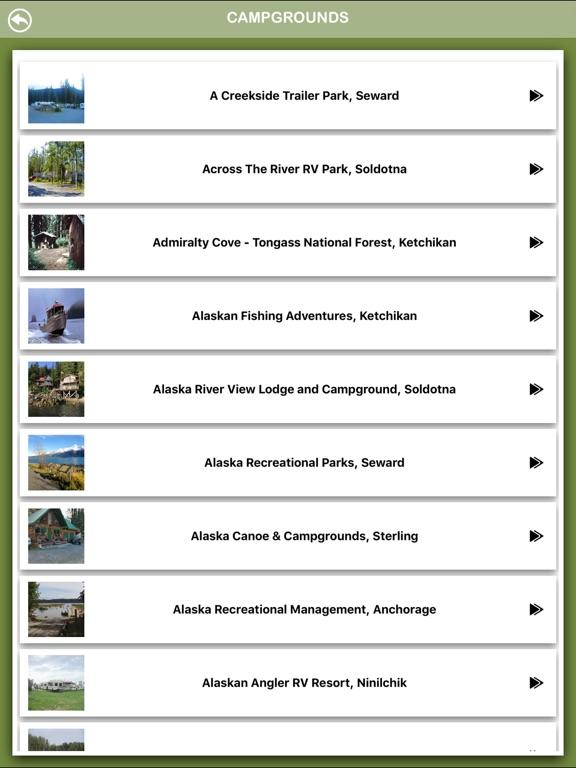 Alaska Campgrounds Offline-ipad-2