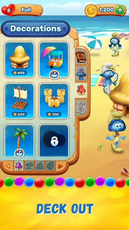 Smurfs Bubble Shooter Story screenshot-3