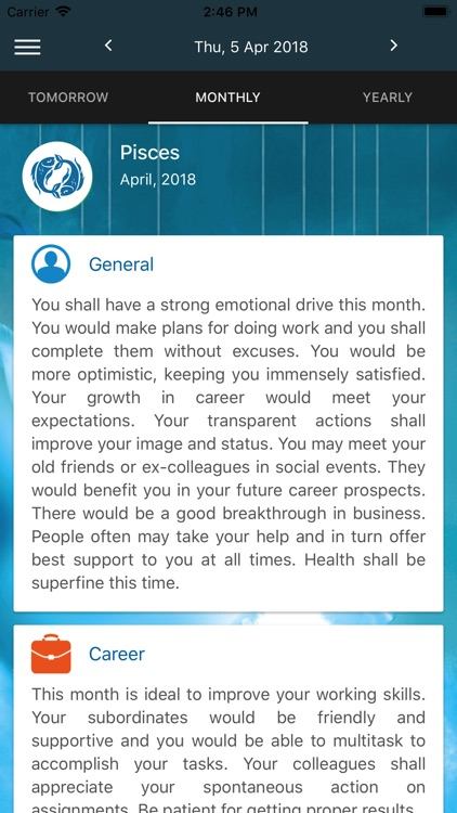 Pisces Horoscope by AstroVed com