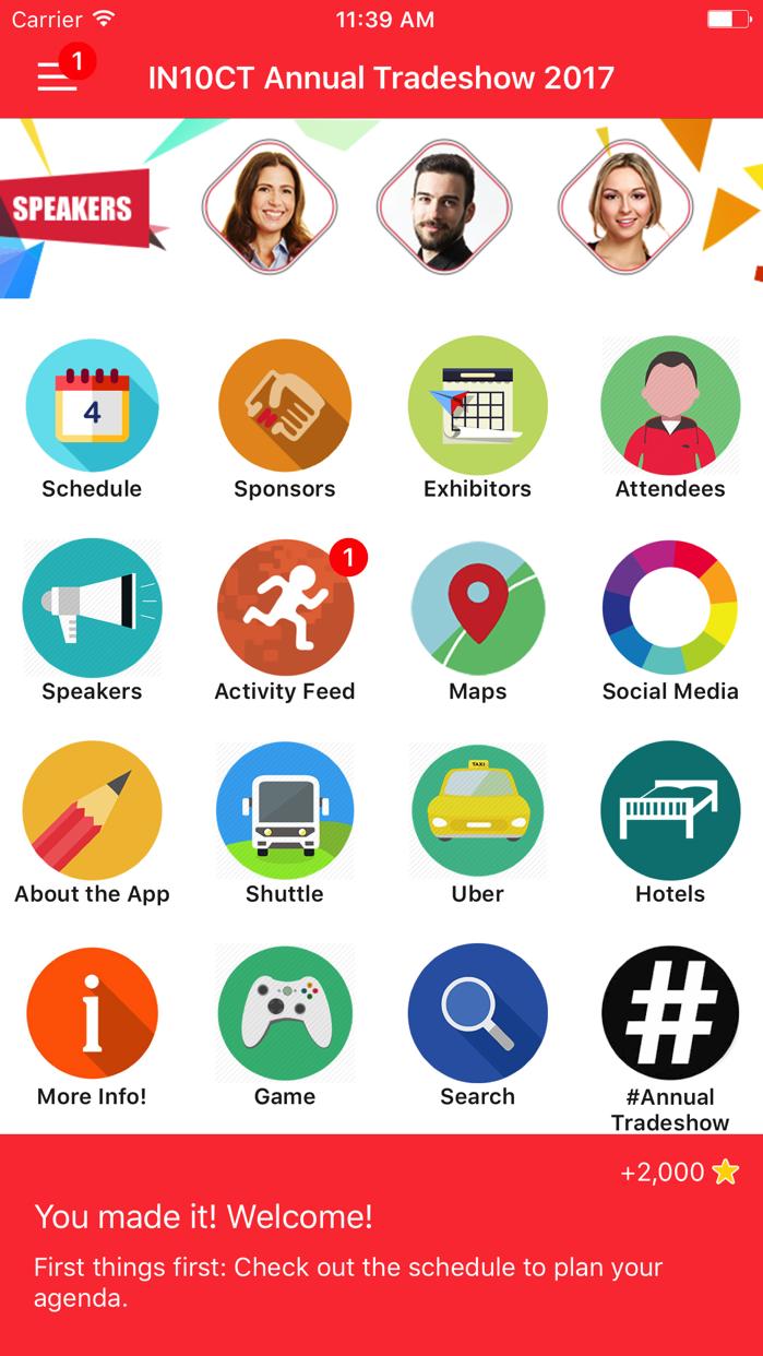 CrowdCompass AttendeeHub Screenshot