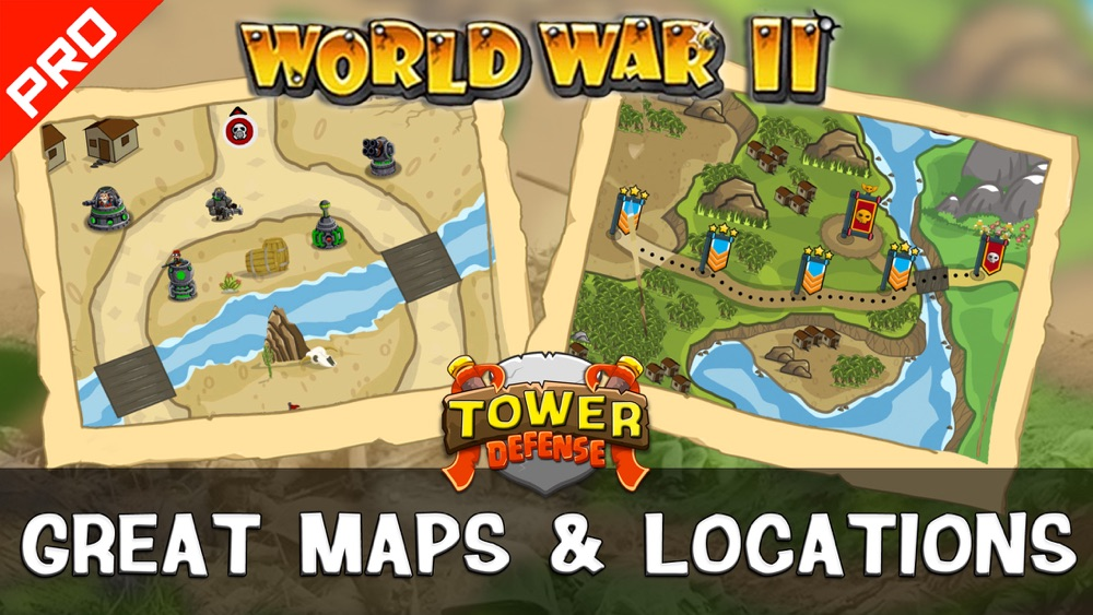 WWII Tower Defense PRO hack tool