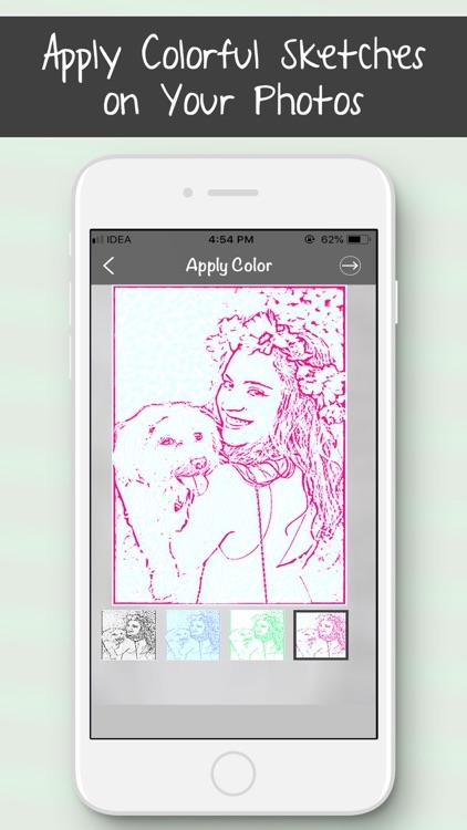 Colourful Sketch Photo Editor screenshot-3