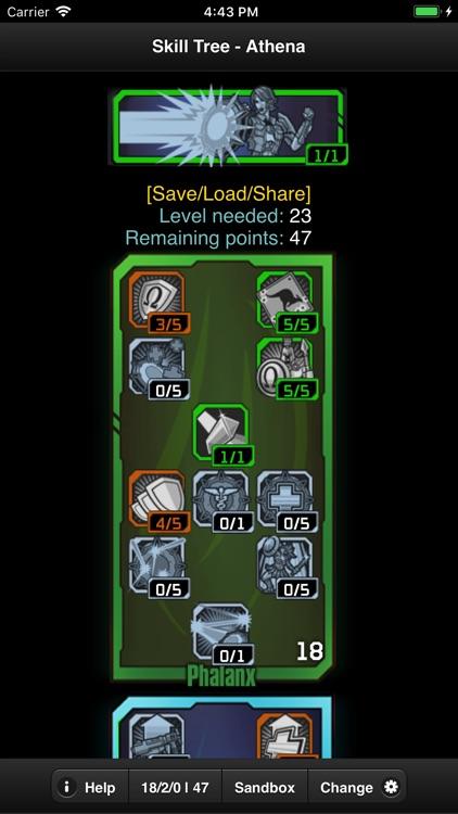 Skill Tree for BL Pre-Sequel