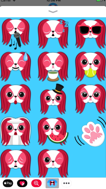 Valentine's Day Japanese Chin screenshot-3