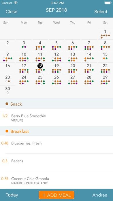 Menu Planner review screenshots
