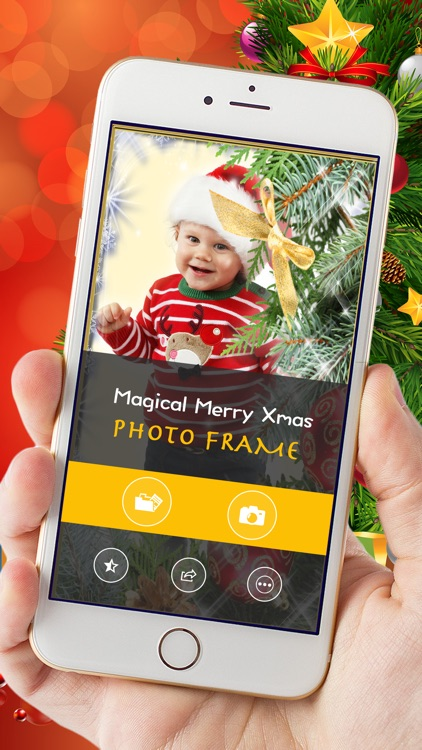 Magical Merry Xmas Photo Frame