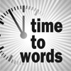 The clock that writes time — time2words