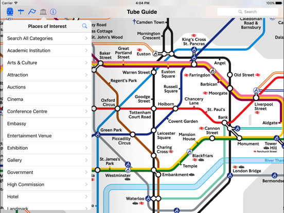 London Tube Map and Guide Скриншоты11