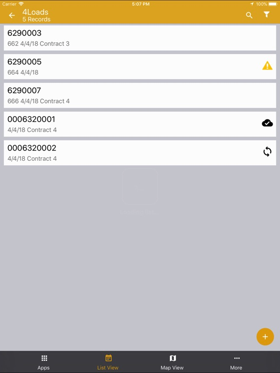 iPad Image of Mobile Builder