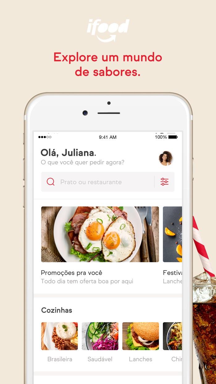 iFood - Delivery de Comida Screenshot