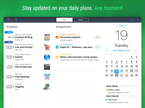 iStudiez Pro Legendary Planner screenshot 1