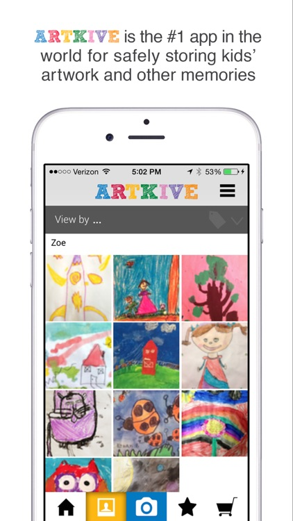 Artkive - Save Kids' Art screenshot-0