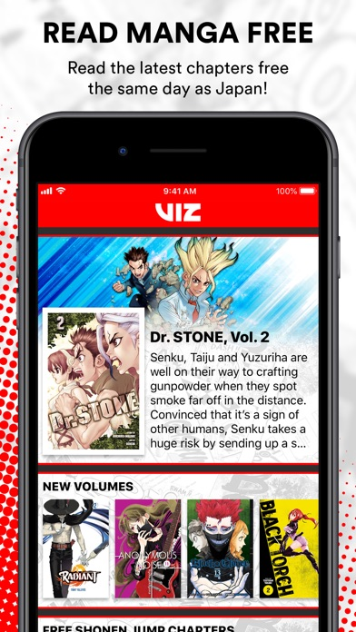 Viz Manga Direct From Japan review screenshots