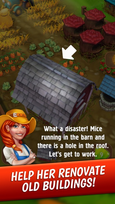 Jane's Village - Farm Game screenshot three