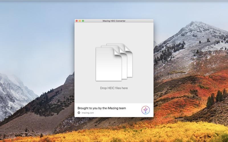 iMazing HEIC Converter Screenshot