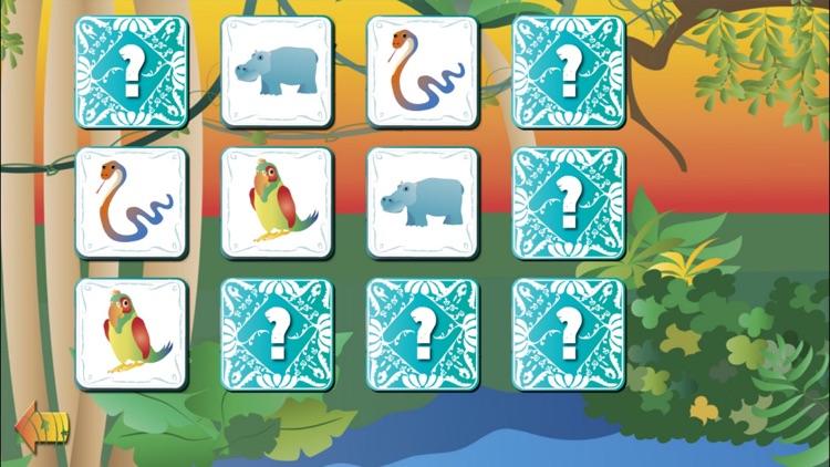 Jungle Animal Pairs Game PRO