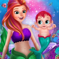 Codes for Little Mermaid Cute Baby Care Hack